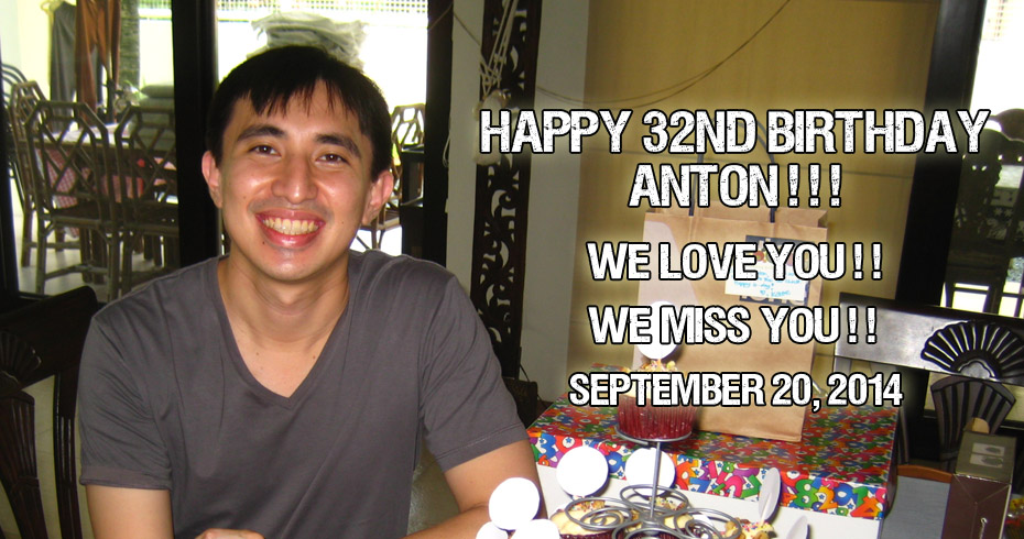 Happy Brithday Anton